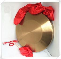 42см низких звуков гонга с молотком сизалью хоругвях китайские традиционные музыкальные инструмен от