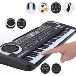 Wholesale Catheters For Sale - Wholesale- 2017 Children Electric Piano Organ 61 Keys Music Electronic Keyboard Key Board For Kids Chrismas Birthday Gift Hot Sale