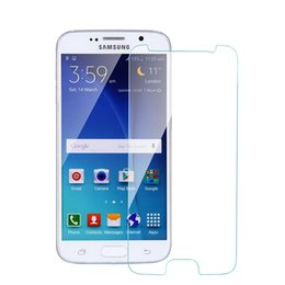 Wholesale Glass Screen For Galaxy S3 - Ultra Thin Tempered Glass Screen Protecter for Samsung Galaxy S3 9300 S4 9500 S5 9600 S6 S7 Glass Protector for Samsung Phone Anti-scratch