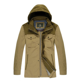 Wholesale Camel Color Winter Coat Men - Fall-Camel Jackets Winter Hotselling Thick Coat Windbreaker Male Outerwear X5F110008