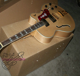 Wholesale Jazz Guitars Natural - Wholesale Guitars Newest Natural Classic Hollow Epi Jazz Guitar Best Free Shipping