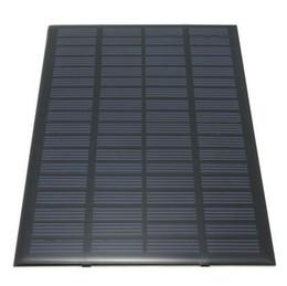 Wholesale Solar Cell Epoxy - 2.5W 18V 194*120*3mm Epoxy resin & PET solar cell panel charging 12V battery