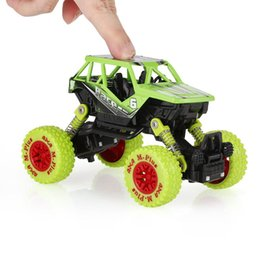 Wholesale Toy Cars Open - Classic Pull Back Car 1 36 Alloy 4WD Big Wheels Shock Resistant Off Road Climbing Car 2 Doors Open Pull Back Vehicle Toy Truck