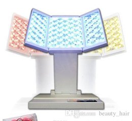 Wholesale Led Photo Rejuvenation Therapy - Hot sell Personal PDT Photo Dynamic Therapy LED Beauty Light Machine for Facial Care, Skin Rejuvenation, Acne Removal, 3 colors LED foldable