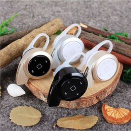Wholesale China Brand Phones - MINI A8 Invisible earpiece mini V4.0 bluetooth earphone made in China bluetooth headset Cell Phone Earphones