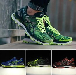 Wholesale Shoes Boots Buttons - 2017 Wholesale ASlCS Gel-Nimbus 19 Original Running Shoes T700N-9007 9099 9023 4907 Men Top Basketball Shoes Boots Sport Sneakers Size 40-45