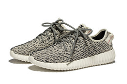 Wholesale Small Size Shoes Women - 2016 Update Version Turtle Dove Kanye West 350 Boost Women Small Size US4 EUR35 Men Fashion Running Shoes Sneakers With Original Box Receipt