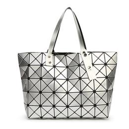 Wholesale Design Ladies Bag Totes Handbag - New Bao Bao Lattice Ladies Issey Bag Geometric Diamond Fashion Handbag Luxury Shoulder Bag Top Design Shopping Bag