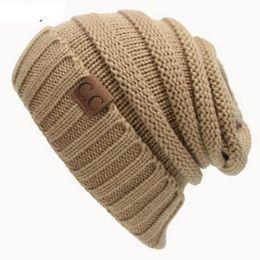 Wholesale Wholesale Hats Brims - Unisex Women's Hat Knitting Caps Women's Winter Hats Casual Cap Crochet Beanies Caps Fashion Leisure Warm Hat Beanies