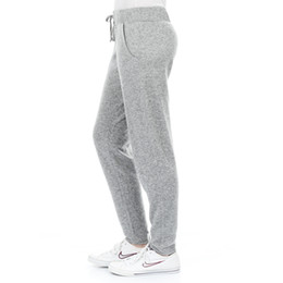 Wholesale Comfortable Sexy Sleepwear - Wholesale-2016 Spring Autumn New Women Sport Trousers Comfortable Gray Pants Casual Home Sleepwear 100%Cotton S-XL