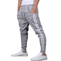 Wholesale Men S Brands Harem Pants - Wholesale-2016 New Fashion Brand Mens Joggers Harem Pants Casual Men Boys Jogger Pant Male Sweatpants Trousers Plus Size 3XL