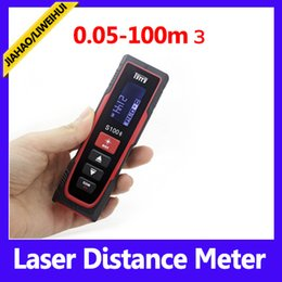 Wholesale Using Moq - 0.05-100m best laser distance measurer used range finders long range finder with retail packing MOQ=1 free shipping