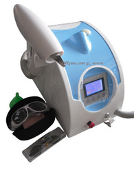 Wholesale Tattoo Removal Laser Machines Sale - Sale!! 1064nm & 532nm Q Switched Nd Yag Laser Tattoo Eyebrow Pigment Removal Machine Scar Acne Remover