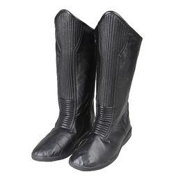 Wholesale Black Hunter Boot - Popular Movie OCS Flash Season 2 Zoom Hunter Zolomon Cosplay Shoes Accessories Boots Halloween Carnival Cosplay Cutomize