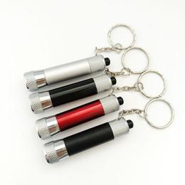 3 torcia a LED in alluminio torcia portachiavi regalo commercio estero creativo da