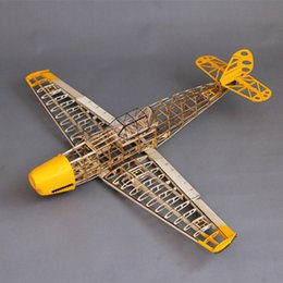 Wholesale Gas Remote Rc - Wholesale-Free Shipping BF109 model,Woodiness model plane,bf 109 model RC airplane,DIY BF109 model remote control plane kit L164