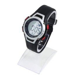 Wholesale Heart Rate Monitor Watch Cycling - Newest 1Pcs 2016 Heart Rate Monitor Sport Fitness Watch Favor Outdoor Cycling Sport Waterproof Wireless With Chest Strap