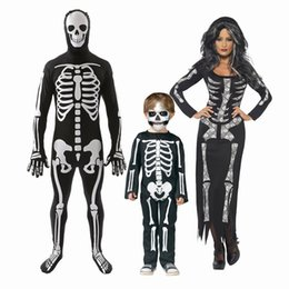 christmas family costume UK - Halloween costumes Family parent-child clothing for Black and white  sc 1 st  DHgate.com & Shop Christmas Family Costume UK | Christmas Family Costume free ...
