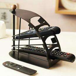 tv-fernbedienung Rabatt 2016 heißer verkauf TV Fernbedienung Stahl Organizer Universal Speicherorganisator Halter Rack Stand 4 Schichten