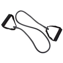 Wholesale Fitness Cords - 4 ft All-Purpose Exercise Resistance Band Workout Single Tube Strength Training for Home Gym Yoga Fitness Equipment Exercise Cord