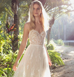 Wholesale Corset Dress Designs - 2017 Limor Rosen beach wedding dresses Sweetheart corset designed with an angelic floral lace paired with soft layer of ruched lace skirt