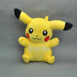 """Wholesale Stuffed Animals For Ems - Free Shipping EMS Cute Pikachu 7"""" 18CM Plush Doll Toy Stuffed Animals Toy For The Children Gifts New"""