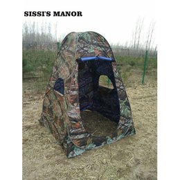 Wholesale Mm Photography - Wholesale- SISSI'S MANOR camouflage 150*150*185cm Portable outdoor Shower tent dreesing tent toilet tent  photography pop up tent with UV