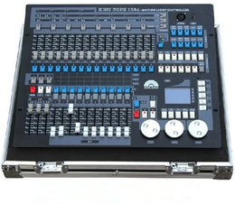 Wholesale Stage Lighting Cases - With flight case King Kong 1024 DMX Lighting Consoles Engineering Professional Stage Lights Pearl Avolite Controllers DJ Disco Equipment