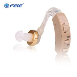 Wholesale Cheap Bte Hearing Aids - Feie best selling products cheap analog hearing aid bte sound amplifer with clear sound ear hearing machine S-8B Free Shipping
