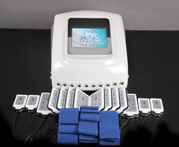 Wholesale Diode Laser Lipo Machine - Dual wavelength body slimming lipo laser machine on sale (102 diode lasers )