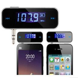 2019 mp3-плеер 1g Мини Беспроводной передатчик 3,5 мм в автомобиле музыка аудио FM-передатчик для iPhone 4 5 6 6 S Plus Samsung iPad автомобилей MP3 передатчик оптовые продажи