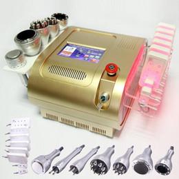 Wholesale Cavitation Machine Uk - UK shipping multifunction Photon RF Cavitation Vacuum Bipolar RF Lipo Laser Slimming machine multipolar Radio frequency beauty equipment