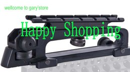 Wholesale Picatinny Carry Handle Rail - Detachable Carry Handle and rear sight W  See through Picatinny Rail Mount Combo M4 M16 AR15 ht129