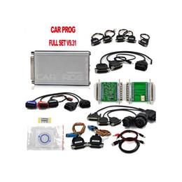 Wholesale Carprog Repair - ALKcar Carprog V9.31 Programmer Radios Odometers Dashboards Immobilizers CarProg Full 21 Adaptors Car Prog Repair Airbag Reset Tools