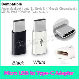 Wholesale Macbook Cheap - Cheap Type C Micro USB 2.0 High Speed Converter Adapter For Galaxy Note 7 Apple MacBook Letv1S Nokia N1 MEIZU Pro5
