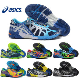 Wholesale Cheap Ship - Asics Gel-Noosa TRI 9 IX Men Running Shoes 100% Original Cheap Jogging Sneakers 2016 Lightweight Sports Shoes Free Shipping Size 40-45