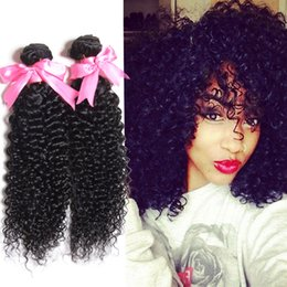 Wholesale Cheap Kinky Curly Weave - 4bundles Mongolian kinky curly human hair bundle deal natural black mongolian kinky curly hair,cheap mongolian afro kinky curly human hair