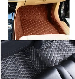Wholesale Bmw Floor - 5D Full Surrounded Leather XPE Car Floor Mats for BMW X5 2011