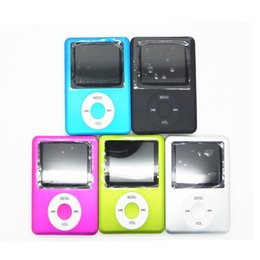 Wholesale Free High Quality Music - Ultra-High Quality MP3 MP4 Multi Media Video Player Music Player LCD Screen Support FM Radio without TF card With Retail Box DHL Free