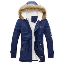 Wholesale Long Winter Coats Sale - Fall-men's Winter coat 2015 new style Multi colors 4XL hot sale