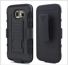 Wholesale Iphone5 Hybrid - For iphone 5 5S Future Armor Impact Hybrid Hard Case Cover + Belt Clip Holster Kickstand Combo Stand For iphone5 6 apple 6 5.5 LG HTC Nokia
