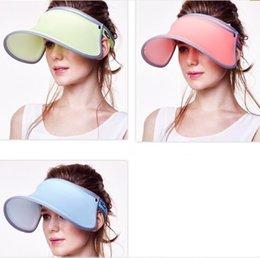Wholesale Sports Cap Low Price - 3 Colors Fashion Sport Men & Women Sun Hat Visor Cap Topee Solid Color - Low Wholesale Price By DHL