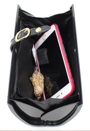 Wholesale Letters Magazine - 6 Color Women Magazine Clutch Cover Art Hard Case Handbag Purse Evening Bag NEW