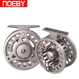 Wholesale Cnc Machined Fly Reel - NOEBY Fly Fishing Reel Reel 75 85mm Aluminum Alloy Right Left Handed Fly Reel CNC Machined Carretilha De Pesca Fishing Reels