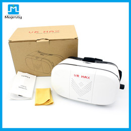 Wholesale Mobile Theater Glasses - VR-MAX VR case With Gamepad 3D virtual realuty glasses mobile home theater 2016 VR Glasses Google Cardboard