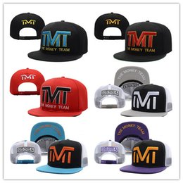 Wholesale Cotton Khaki Baseball Caps - Newest Fashion Wholesale-Full black the team money Snapback caps hiphop adjustable hat men & women classic baseball Hats Cheap