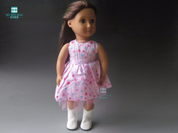 Wholesale Doll T Shirts - Doll Accessories Clothes, even skirt, T-shirt A variety of styles for 45cm American Girl dolls and our generation