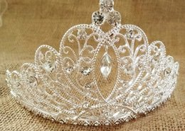 Wholesale Crowns Tiara S - The new bride 's crown hair accessories