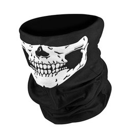 Wholesale Wholesale Bandanas Sports - Wholesale-2016 New Novelty Skull Wicking Seamless Washouts Scarf Fashion Cool Outdoor Ride Bandanas Sport Skull Scarves