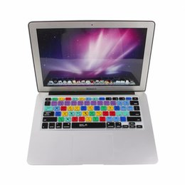 Wholesale Dustproof Macbook - US EU English Silicone Adobe Photoshop Shortcut Keys Keyboard Protector Keyboard Covers For Macbook Pro Air 13 15 17